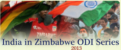 India vs Zimbabwe ODI Series 2013